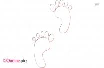 Outline Of Human Footprint