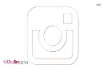 Instagram Logo Outline Free Vector Art