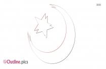 Symbol Clipart Islam Outline