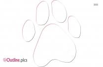 Kangaroo Footprint Outline