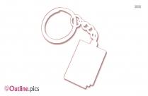 Gate Keychain Fangamer