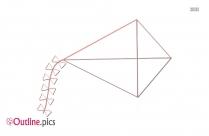 Kite Clip Art Outline Download