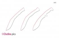 Katana PNG Outline