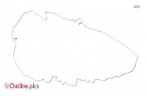Lettuce Clipart Outline Art