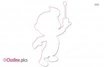 Little Einsteins Boy Outline