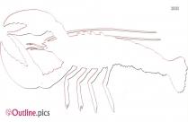 Lobster Outline