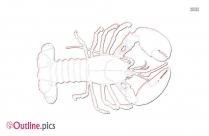 Lobster Clip Art Outline