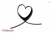 Love Heart Outline Symbol
