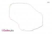 Kites Clip Art Outline