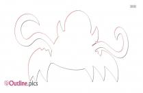 Mixels Kraw Outline Sketch