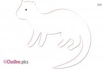 Muskrat Clipart Drawing