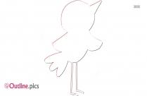 Oklahoma Bird Outline Clipart