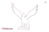 Ophiuchus Symbol Outline Image