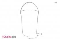 Outline Of Bucket