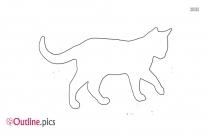Cat Outline Transparent Background