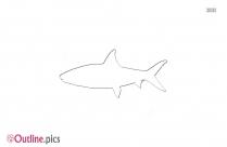 Permit Fish Outline Design