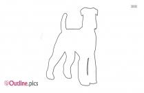 dog barking outline image