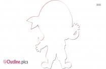 Girl Clipart Outline
