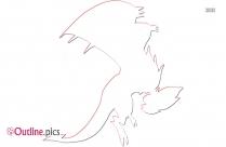 Pokemon Noivern Outline Image