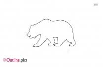 Polar Bear Outline Images