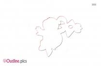 Pom Pom Koopa Outline Pic