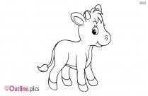 Cartoon Baby Animal Vector