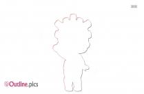 Porpol Lol Dolls Clipart Outline