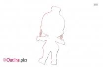 Porpol Lol Dolls Illustration Outline