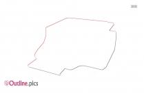 Printer Outline Sketch