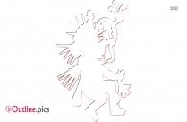 Quetzalcoatl Outline Clipart