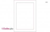 Rectangle Frame Outline Clip Art