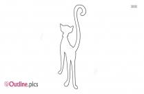 Fat Cat Outline