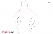 Rey Mysterio Outline Clip Art