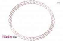 Rope Ring Outline Art