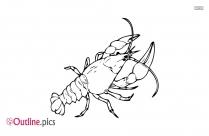 Free Crustacean Clipart Outline