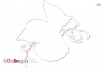 Whale Clip Art Outline Image