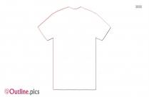 Cotton T-shirt Outline