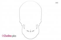 Clipart Skull And Bones Outline