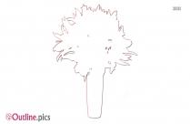 Flower Drawing Outline Art