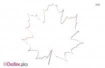 Fern Leaves Outline Sketch