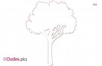 Tree Clip Art Outline