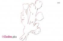 Snowdrop Flower Outline Free Vector Art