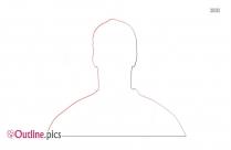 User Profile Outline Illustration