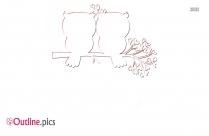 Valentine Owl Outline Image