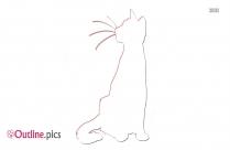 Outline Of Warrior Cat