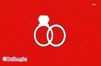 Wedding Ring Outline