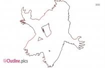 Werewolves Monster Attack Outline Image