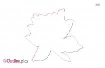 Poppy Wildflower Vector Silhouette