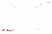 Window Icon Clip Art Outline