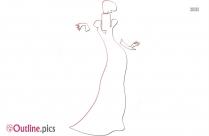 Woman Outline Design
